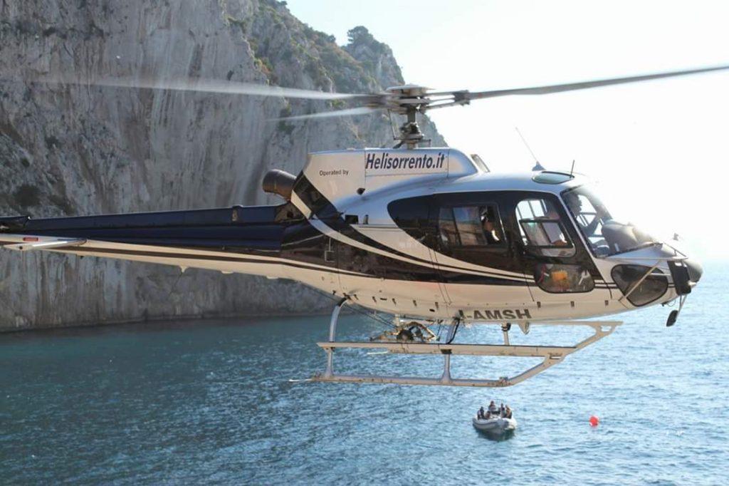 Trasferimento elicottero per Capri